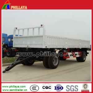 2 Axles Full Trailer Dolly Trailer pictures & photos