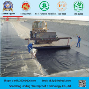 Smooth Surface HDPE Geomembrane Used on Landfill pictures & photos
