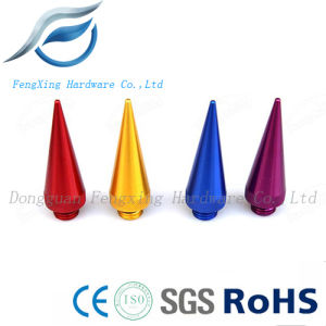 CNC Aluminum Colorful Screw Cups for Car Wheel Hub, Bullet Screw Cup pictures & photos
