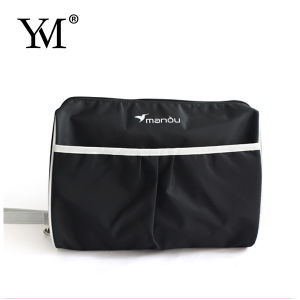 Fashion Ladeis Black Promotion Portable Cosmetic Bag pictures & photos