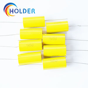 Axial Metallized Polypropylene Film Capacitor (Cbb20 825j/250V) pictures & photos