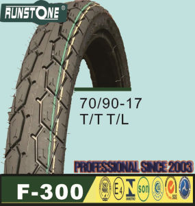 Motorcycle Tire70/90-17T/T T/L pictures & photos
