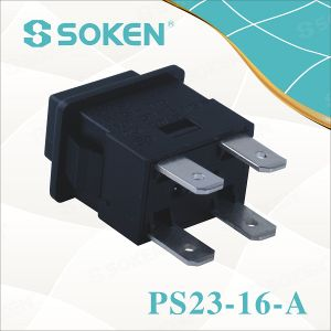 Soken Socket Extension Push Button Switch Momentary 16A pictures & photos