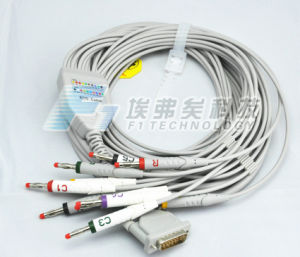 Btl 10 Leads ECG/EKG Cable IEC Type EKG pictures & photos