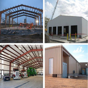 Long Life Time Steel Insutrial Warehouse/ Shed/ Buildings (DG3-051) pictures & photos