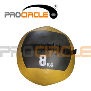 PU Leather Crossfit Weighted Wall Ball (PC-MB1112) pictures & photos