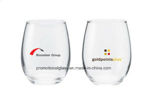 Crystal Stemless Wine Glass,