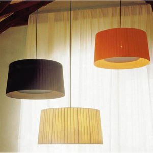 Beautiful Fabric Hanging Suspension Lamp Lighting for Home pictures & photos