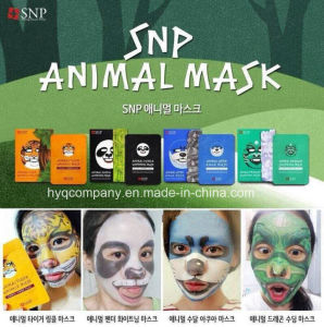 Korea 4 New Styles Facial Mask Snp Animal Face Masks (Tiger, Panda, Otter, Dragon) pictures & photos