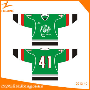 Healong Fashion Dye Sublimated Mens Printing Ice Hockey Jerseys pictures & photos