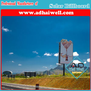 Customized Solar Powered Electronic Outdoor Advertising Billboards pictures & photos