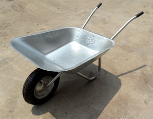 Gardening Painted Steel Wheel Barrow pictures & photos