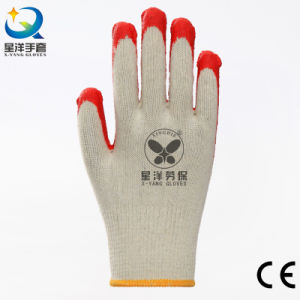 Latex Palm Coated Gloves, Smooth Finish pictures & photos