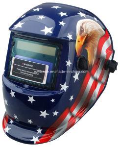 Adjustable Auto Darkening Solar Welding Helmet Eagle Ce ANSI Certified pictures & photos