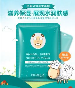 Bioaoua Animal Sheep Nourish Mask Moisture Face Mask pictures & photos