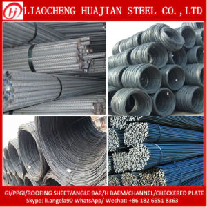 HRB400 10mm 12mm Hot Rolled Steel Rebar for Construction pictures & photos
