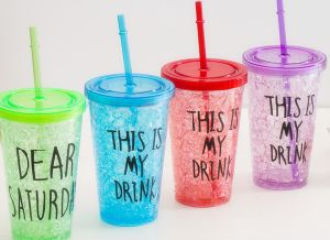 16 Oz Promotional Acrylic Straw Cup pictures & photos