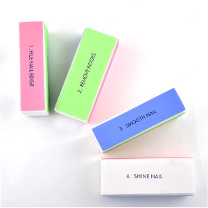 4 Sides Shine Nail Buffer for Nail Art pictures & photos