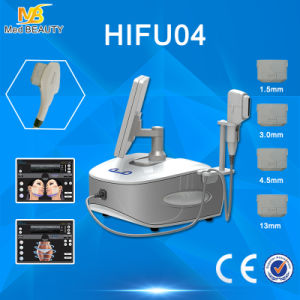 4 Heads Hifu 4MHz/7MHz/ 10000 Shots Ultrasound Hifu Machine/65-70 Degree pictures & photos