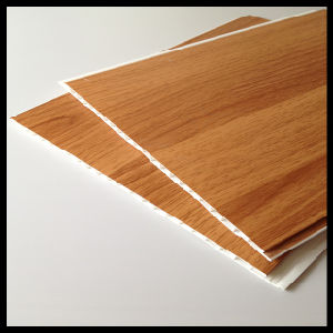 Hot Wooden Laminated Colors for PVC Ceiling Panel (HN-2517) pictures & photos
