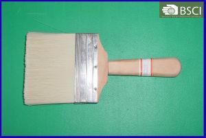 (SHSY-0332) White Bristle Plain Wooden Handle Paint Brush pictures & photos