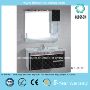 Competitive Price PVC Bathroom Cabinet, Vanity, Furniture (BLS-16155) pictures & photos