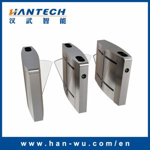 Bidirectional IC/ID Card Reading Flap Turnstile Gate with Entrance Control pictures & photos