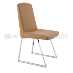 Hot Selling Luxurious PU Leather Dining Chair Dining Furniture (NK-DC010)