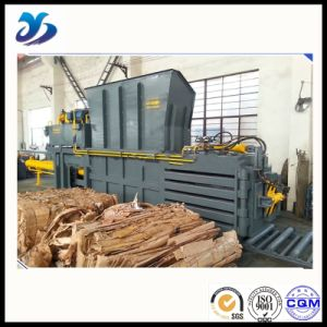 Safe and Reliable Crushed Straw Horizontal Baler pictures & photos