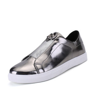 Aliexpress Spring & Summer Bright Leather Shoes The Trend of Cross-Border Small Shoe Lovers Personality Pedal Shoes pictures & photos