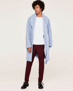 Men Fashion Heavy Over Size Sweater Cardigan pictures & photos