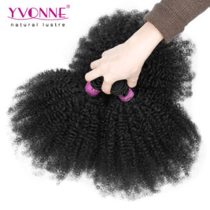 Factory Price Hair Weave Afro Kinky Curly Human Hair Brazilian Hair pictures & photos