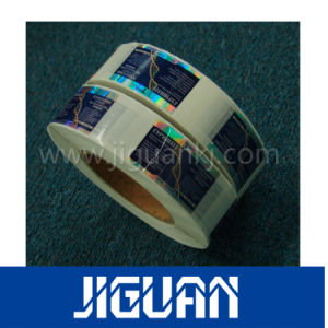 Silver Tamper Proof Pet Hologram Security Label pictures & photos