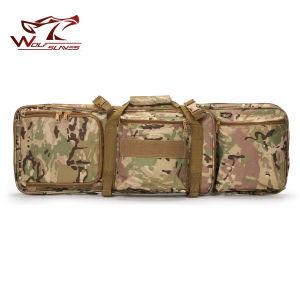 "Airsoft Tactical 0.85 Meter M4 Gun Bag 33"" Dual Rifle Carrying Case pictures & photos"