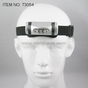 4 LED Headlamp with Flash Light (T3054) pictures & photos
