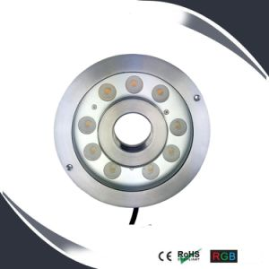 9X3w IP68 LED Underwater Lighting, Underwater Water Lamp, Fountain Light pictures & photos
