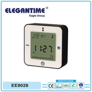 LCD 4 in 1 Multifunction Alarm Tablet Clock with Factory OEM Supported pictures & photos