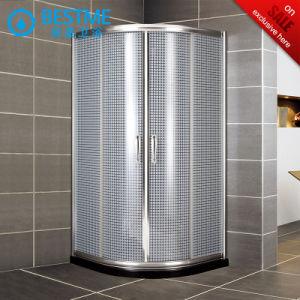 Corner Sector Shape Aluminium Alloy Two Fixed Sliding Door Shower Room (BL-Z3511) pictures & photos