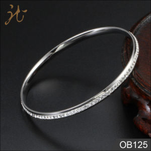 1 Circle Clay Rhinesthones Bangle Ob125 pictures & photos