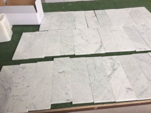 24X24 Natural White Carrara Marble Tiles, Carrara White Marble Countertop pictures & photos