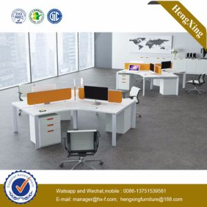 Metal Staff Table 4 Seats Workstation Office Partition (HX-NJ5041) pictures & photos