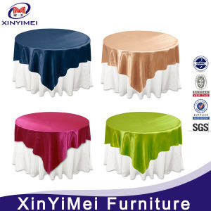 High Quality Fancy Spandex Table Cloth for Hotel Restaurant pictures & photos