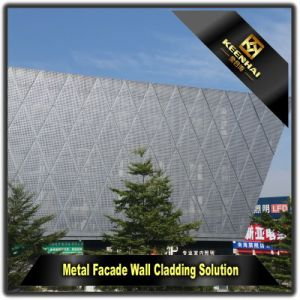 Decoration Material Aluminum Perforated Wall Cladding Panel pictures & photos