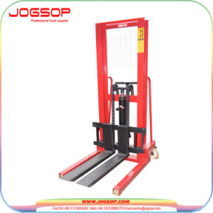 Cty1.5 Hand Forklift Manual Hand Lift Stacker pictures & photos