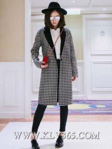 Latest Design Women Fashion Winter Wool Long Coat pictures & photos