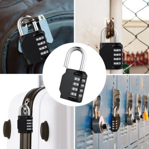 Anti Rust Padlock Set Security Padlock for Gym, Sports, Fence, School & Employee Locker, Outdoor, Hasp Cabinet & Storage pictures & photos
