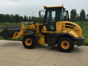 CE Multifunctional Mini Wheel Loader with Euro Wood Grapple pictures & photos