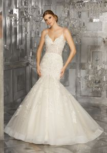 3/4 Sleeves Bridal Formal Gowns Lace Tulle Wholesale Wedding Dress Lb1920 pictures & photos