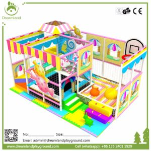 Home Used Candy Theme Custom Kids Soft Play Indoor Playground pictures & photos