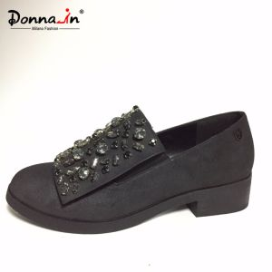 2017 Lady Fashion Jewel Women Flat Casual Footwear (CIF&DDP) pictures & photos
